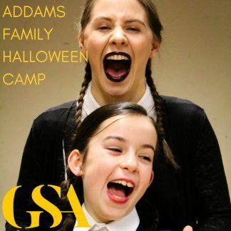 Addams Family Halloween Camp