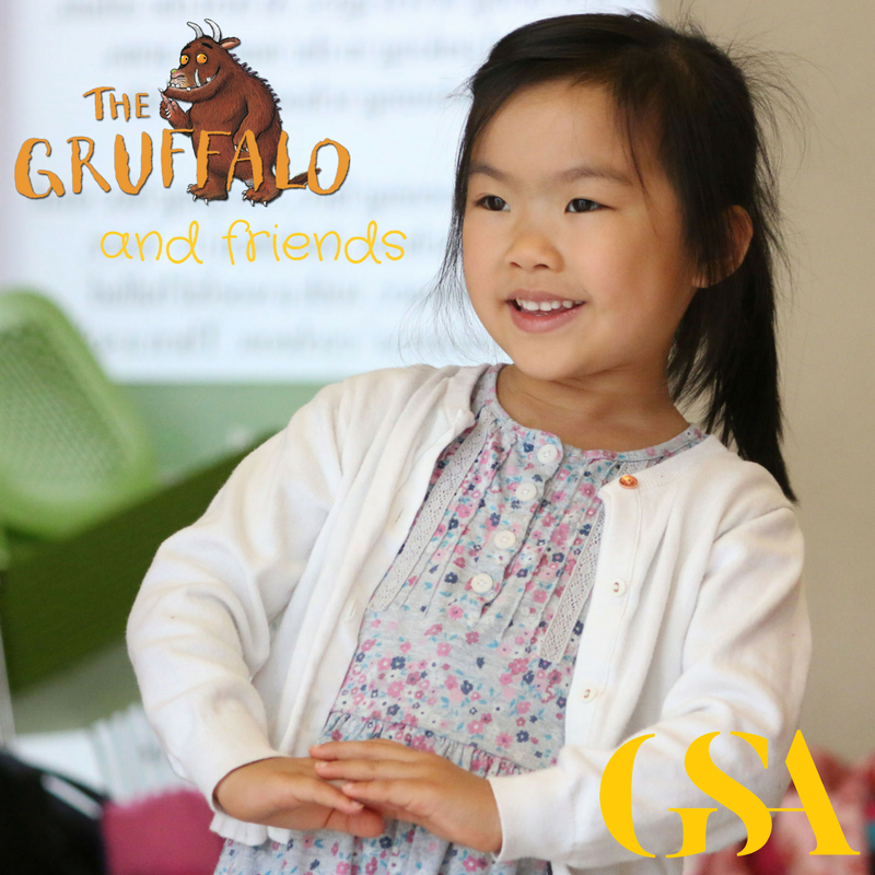 Gruffalo Friends Acting Tots on The Smartest Giant In Town