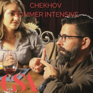 Chekhov training at the Gaiety School of Acting