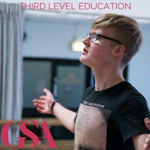 Third level education Gaiety School of Acting